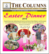 Tara Woods - The Columns May 2018 issue